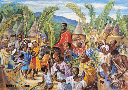 Image result for african palm sunday