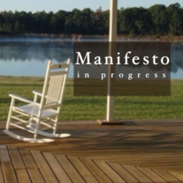 manifesto in progress